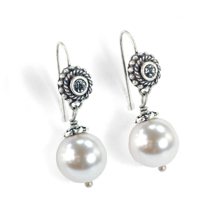 Laguna Beach Pearl Earrings - Sweet Romance Wholesale