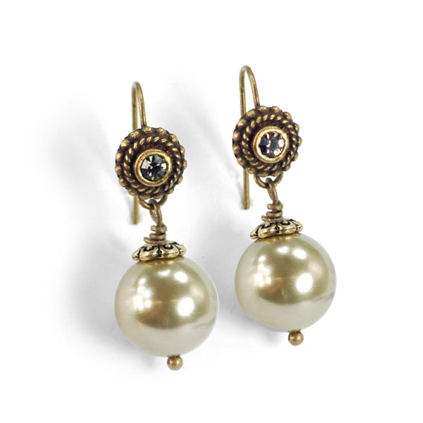 Laguna Beach Pearl Earrings