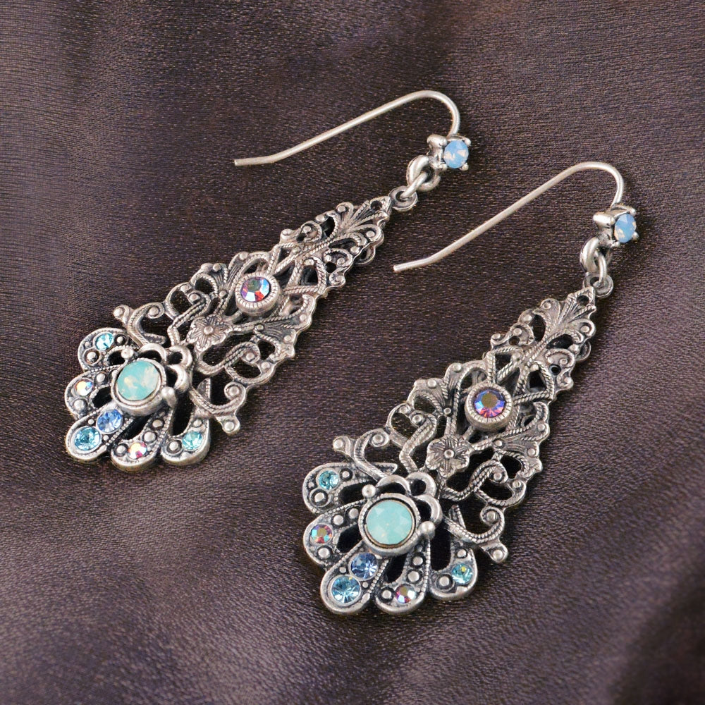 Parisian Filigree Earrings - Sweet Romance Wholesale