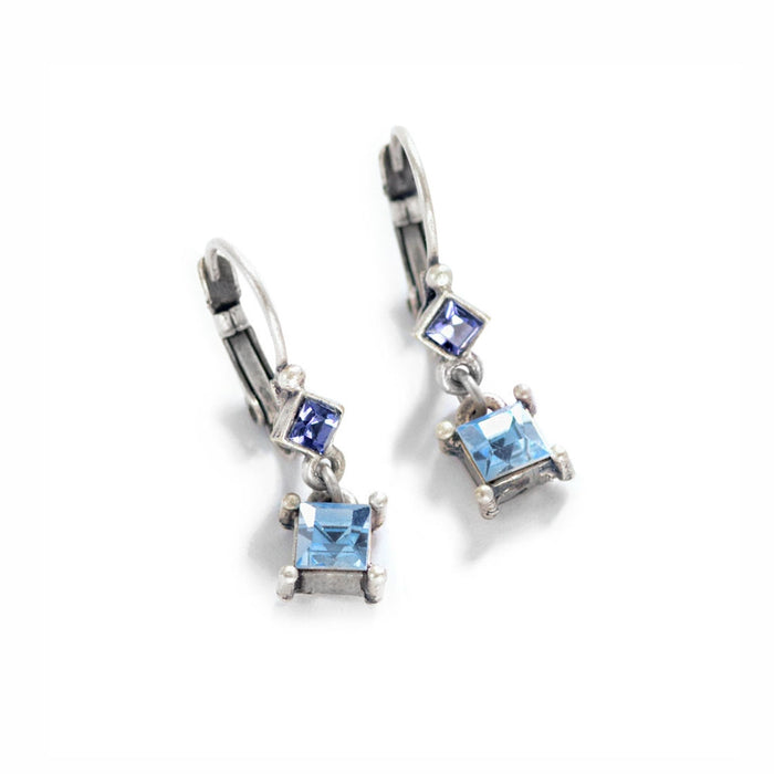 Petite Square Earrings E1389