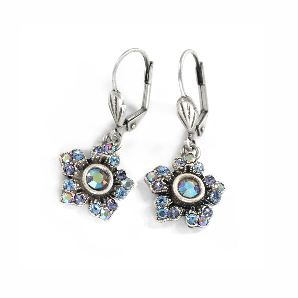 Jasmine Flower Dangle Earrings E1390 - Sweet Romance Wholesale