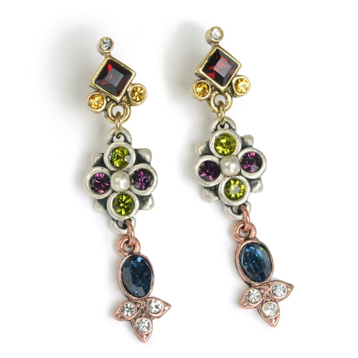 Canterbury Jewel Earrings E647 - Sweet Romance Wholesale
