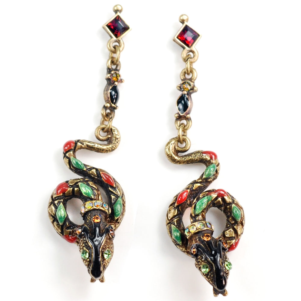 Serpents Earrings E701-AE