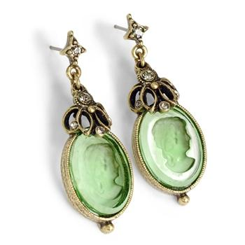 Atemis Intaglio Earrings E910 - Sweet Romance Wholesale