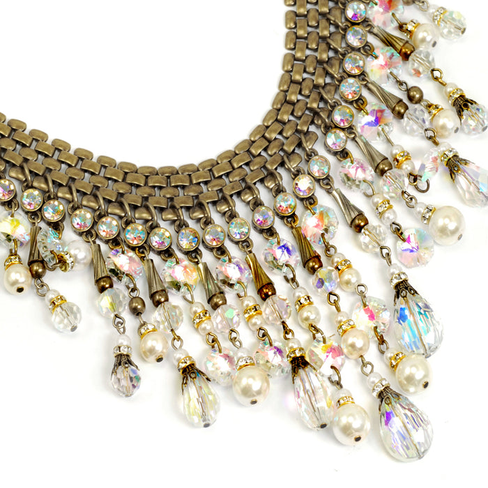 1950s Aurora Collar Necklace N1059 - Sweet Romance Wholesale