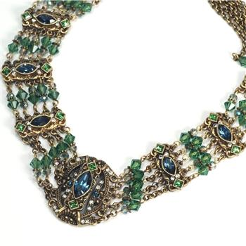 Madrid Victorian Collar Necklace - Sweet Romance Wholesale