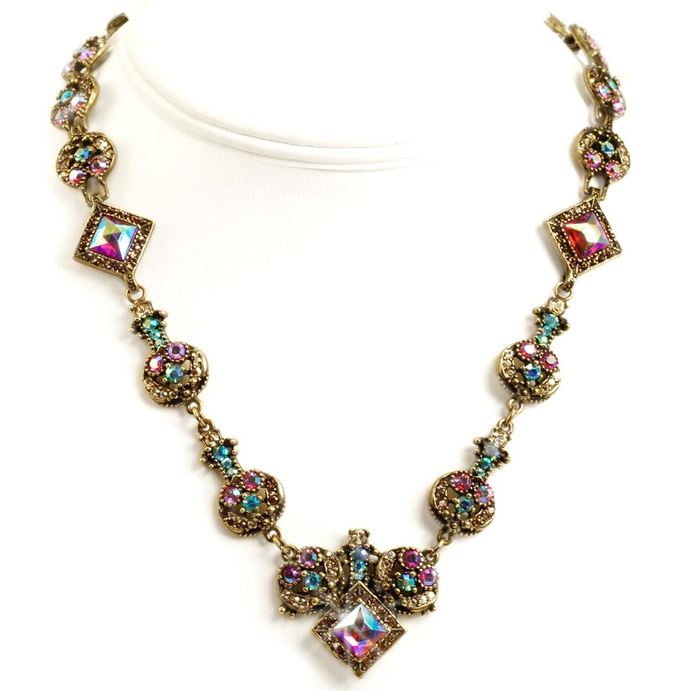 Vintage Glamour Necklace - Sweet Romance Wholesale