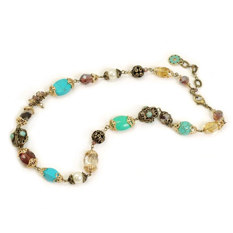 Gemstone Garden Necklace - Short