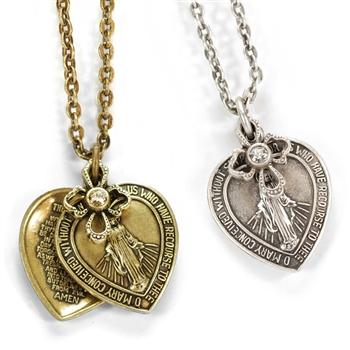 Lord's Prayer Pendant Necklace N1242