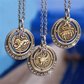 Zodiac Pendant Necklace - Sweet Romance Wholesale