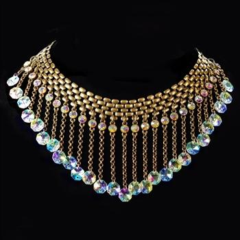 Rainfall Collar Necklace N1273 - Sweet Romance Wholesale