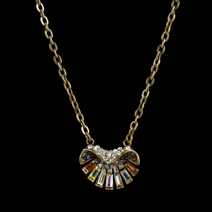 Art Deco Aurora Shell Ocean Necklace & Earring Set - Sweet Romance Wholesale