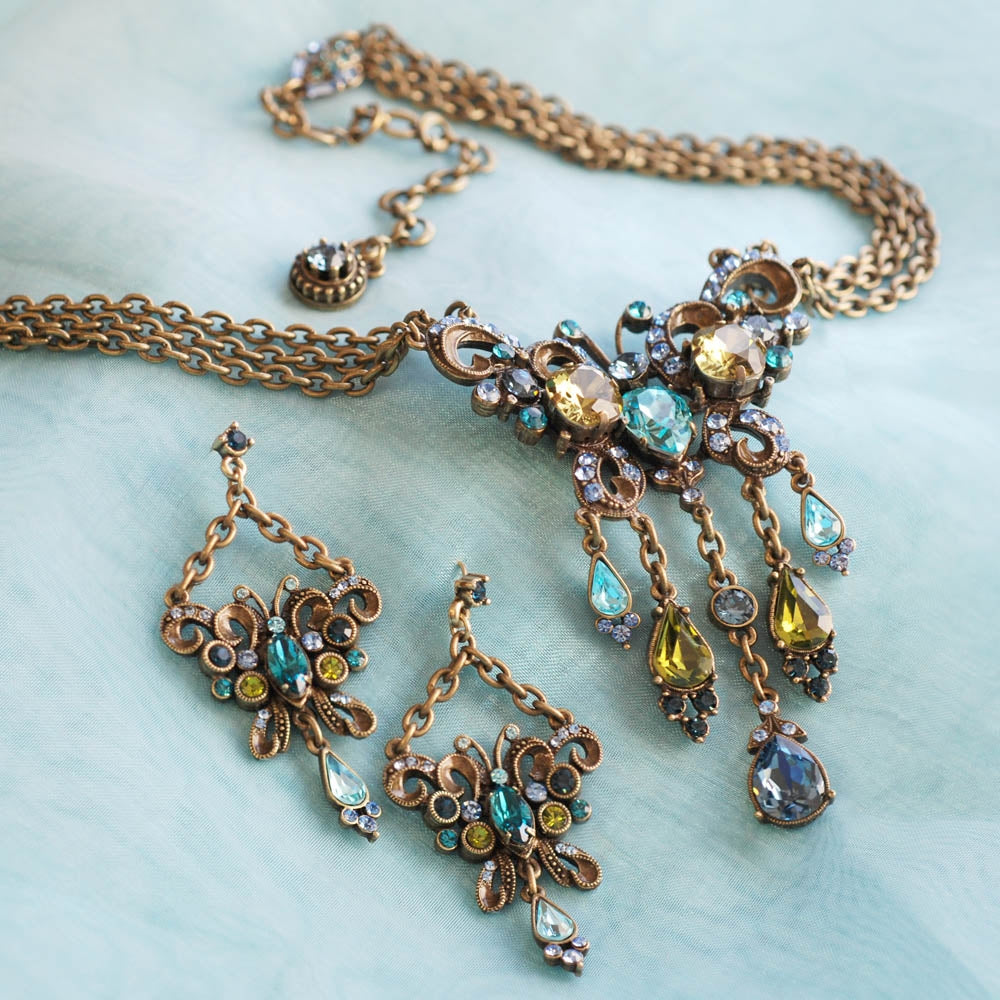 Exotic Butterfly Necklace N1294 - Sweet Romance Wholesale