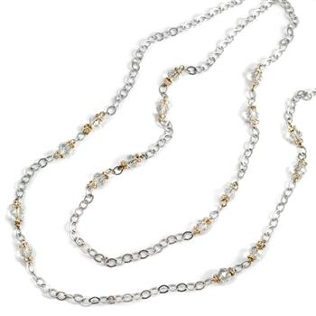 Crystal Beaded Necklace N1325 - Sweet Romance Wholesale
