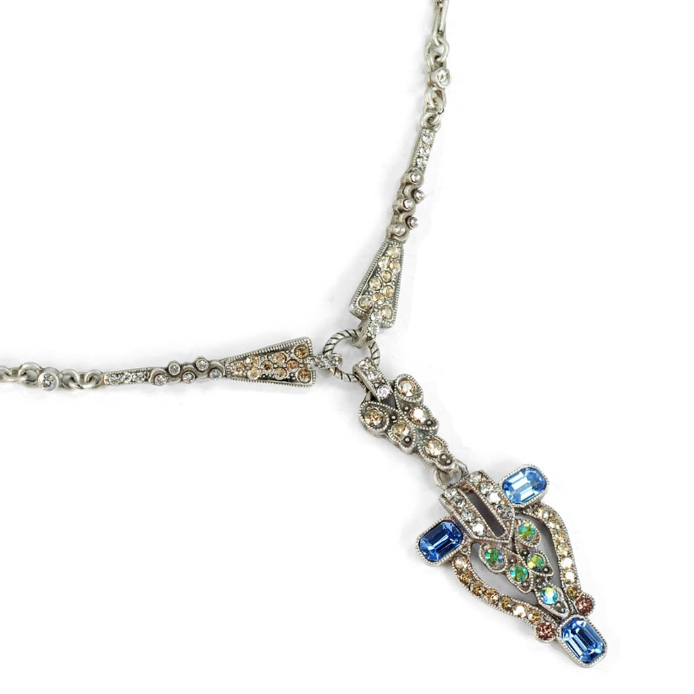 Art Deco New York City Vintage Necklace N1341 - Sweet Romance Wholesale