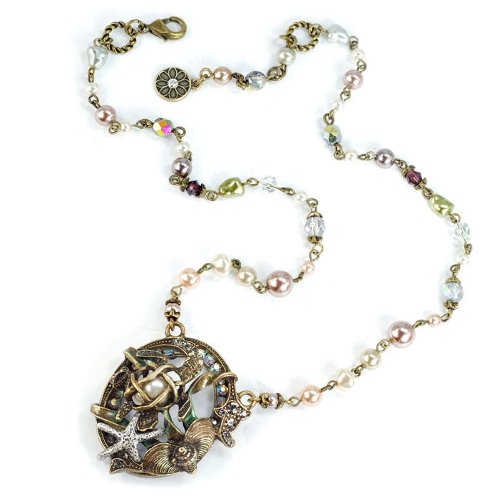 Sea Turtle Necklace N1361
