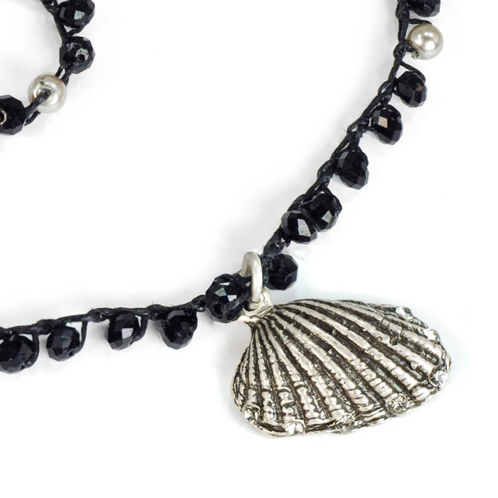 Hermosa Beach beads Seashell Necklace N1367 - Sweet Romance Wholesale