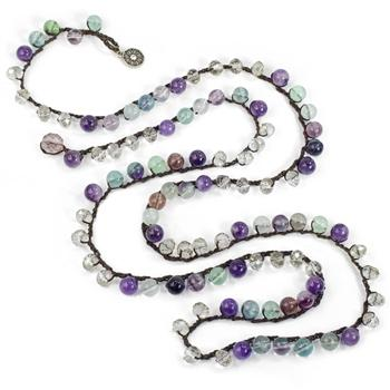 Miami Beach Earth Festival Beads Necklace N1368 - Sweet Romance Wholesale