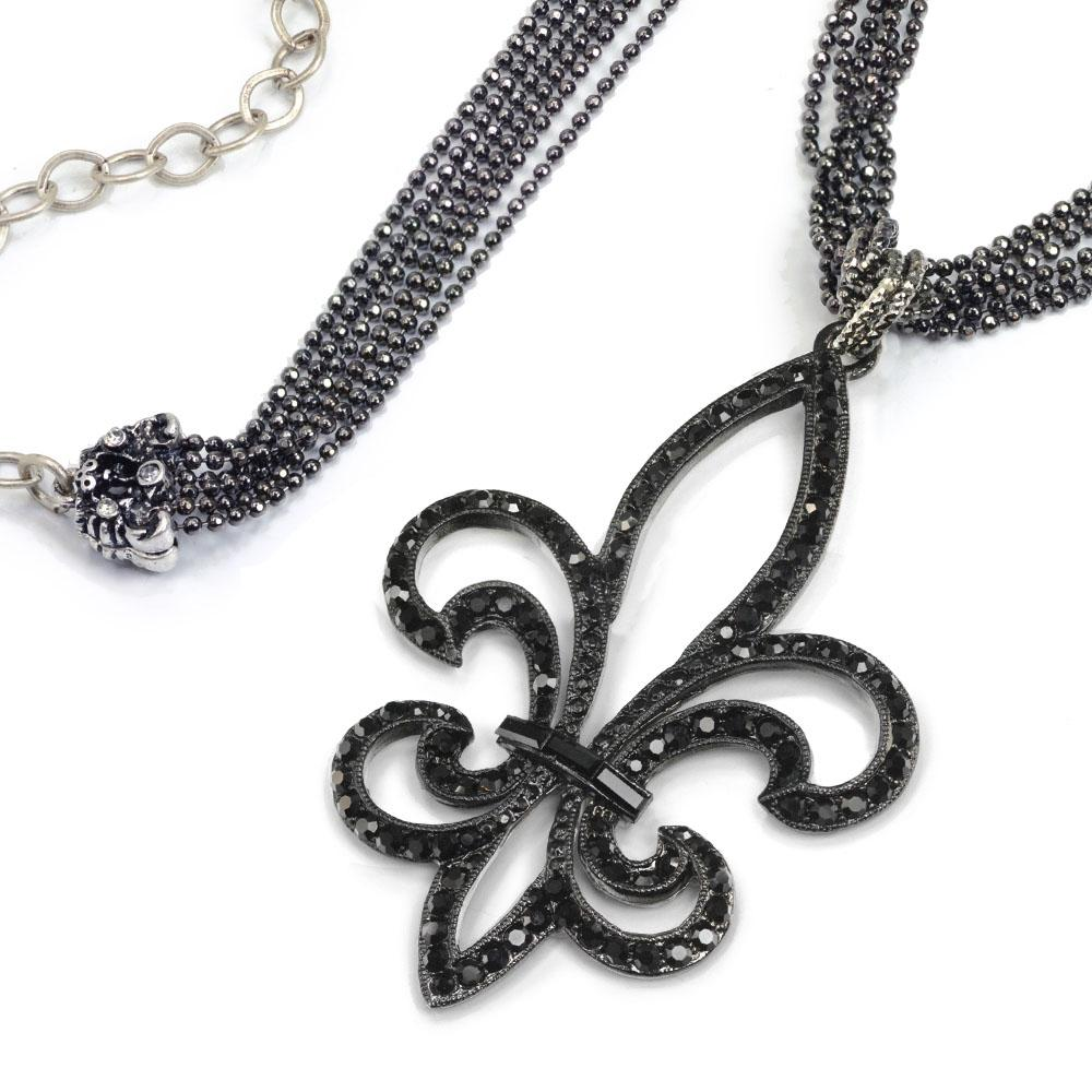 Twilight Fleur di Lis Necklace - Sweet Romance Wholesale