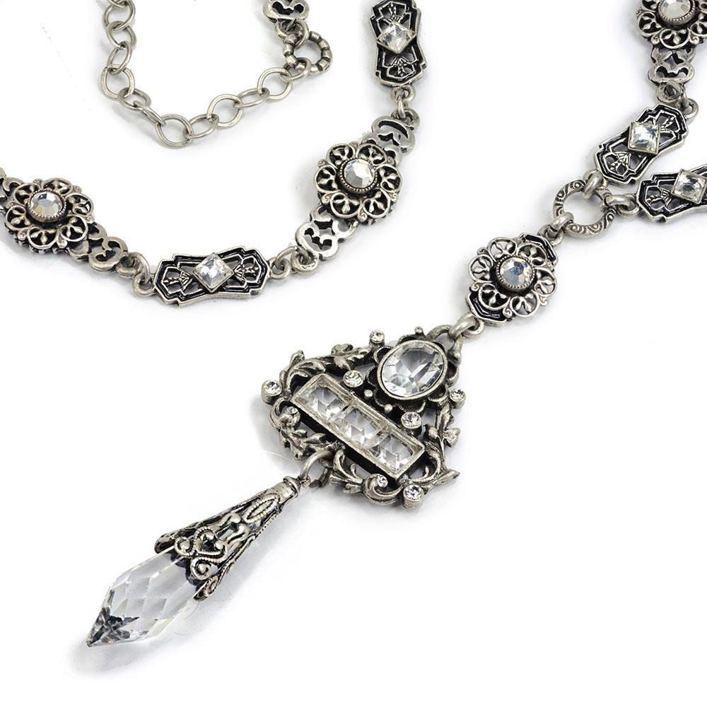 Crystal Renaissance Necklace N1391 - Sweet Romance Wholesale