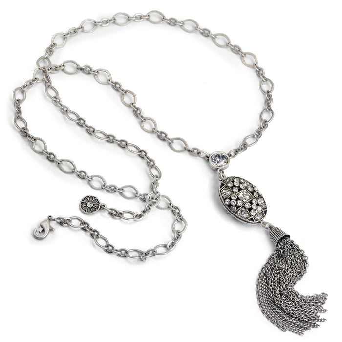 Gatsby Tassel Necklace