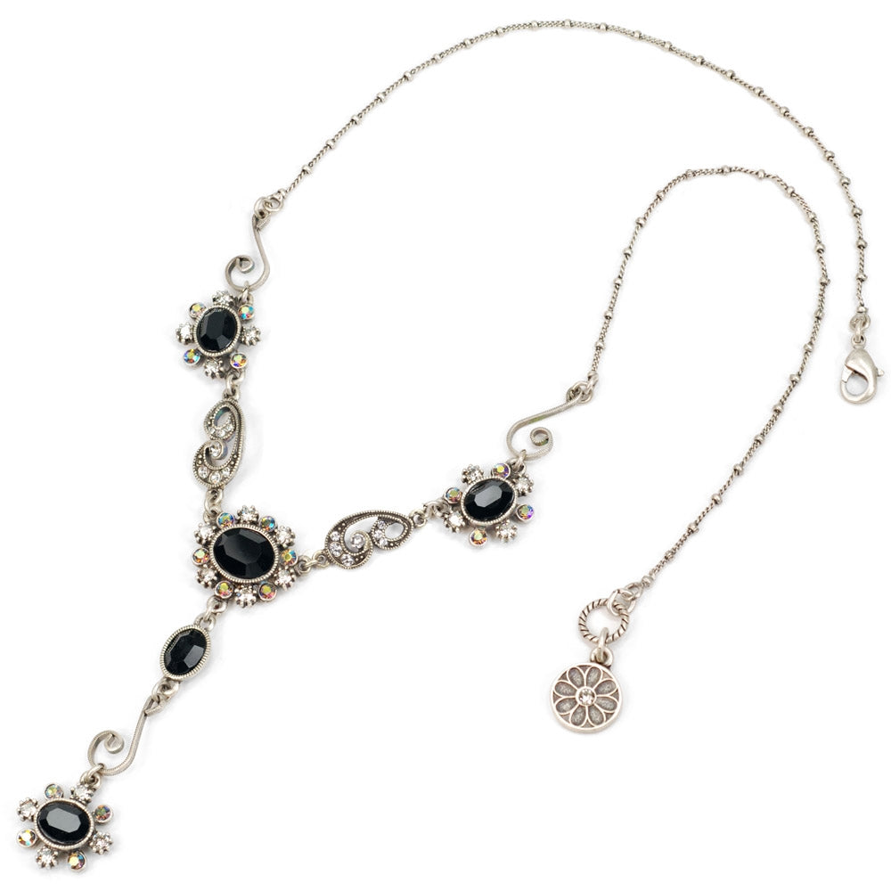 Victorian Jewel Y Necklace N1402 - Sweet Romance Wholesale
