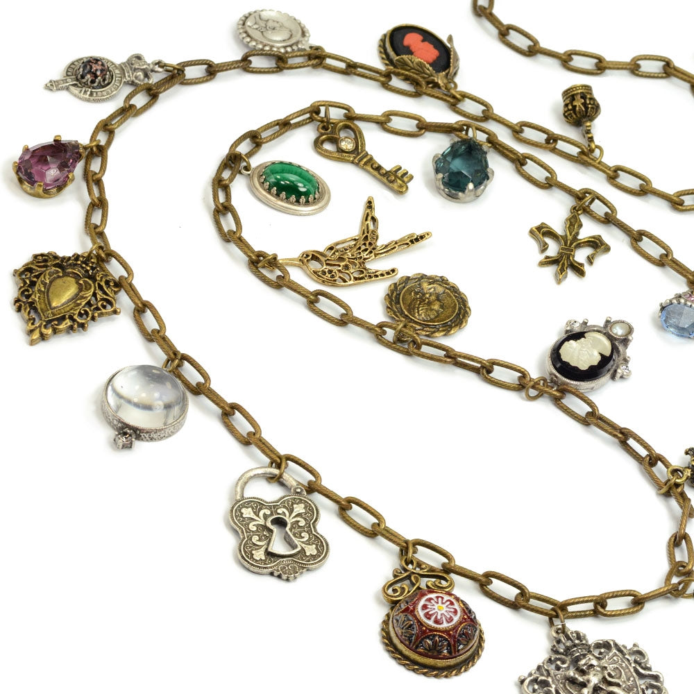 Vintage Curiosity Necklace - Sweet Romance Wholesale