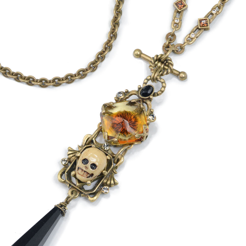 Memento Mori Necklace - Sweet Romance Wholesale