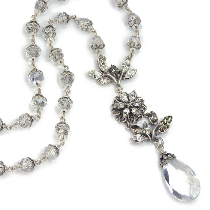 Pointe Flower Necklace - Sweet Romance Wholesale