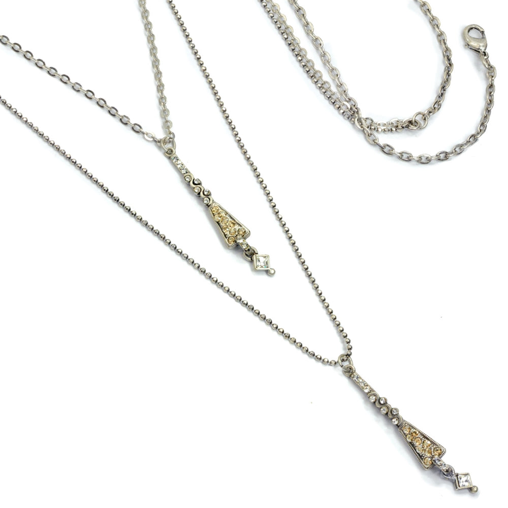 Nested Deco Necklace - Sweet Romance Wholesale