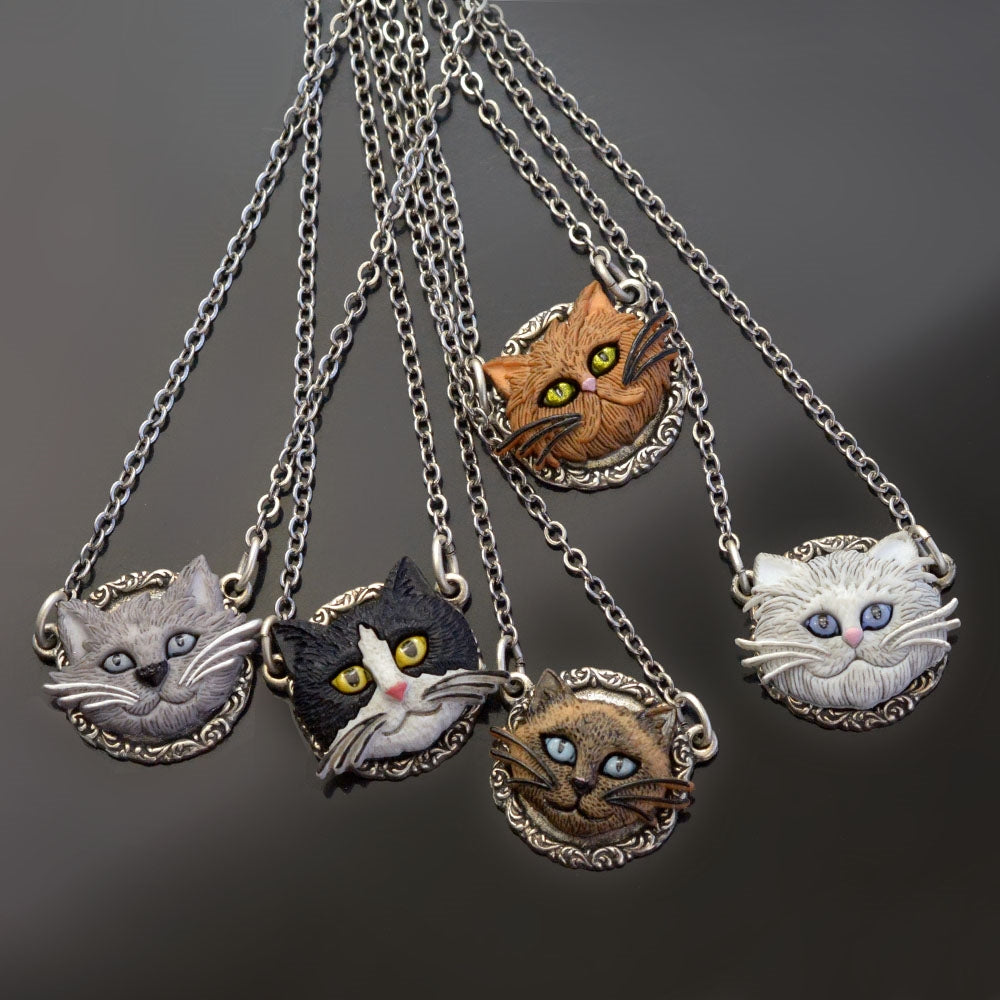 Cat Lover Necklaces N1542 - Sweet Romance Wholesale