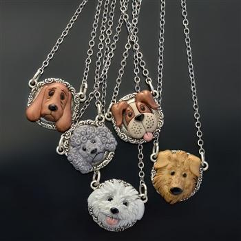 Dog Lover Necklaces - Sweet Romance Wholesale