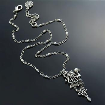 Free Spirit Mermaid Necklace N1544 - Sweet Romance Wholesale