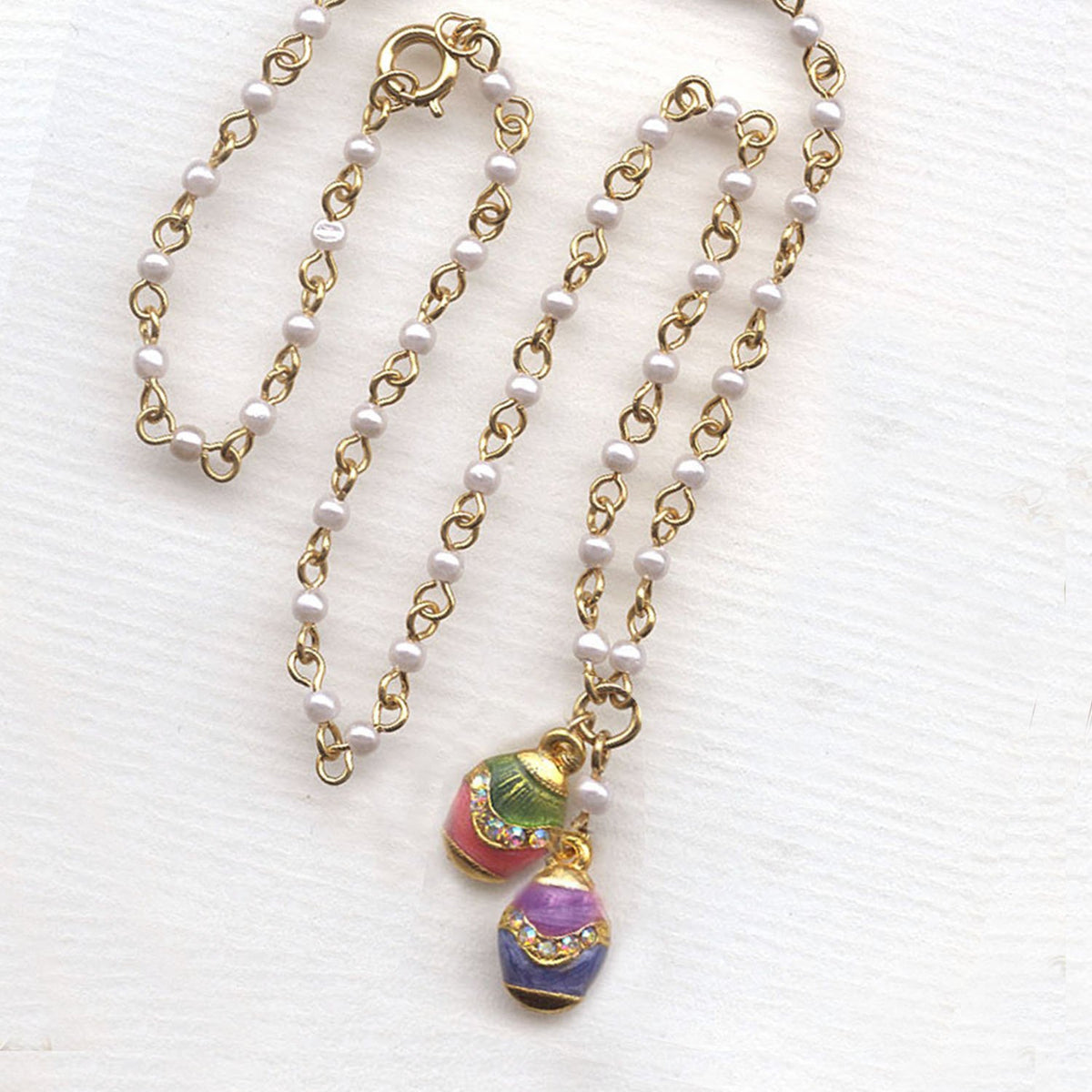 Easter Egg Necklace N201 - Sweet Romance Wholesale