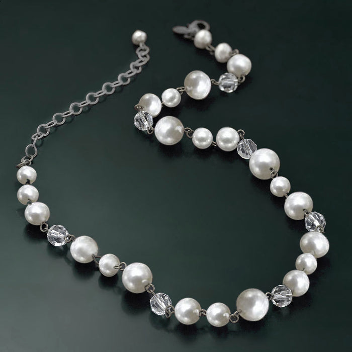 Baroque Pearl Necklace N580 - Sweet Romance Wholesale