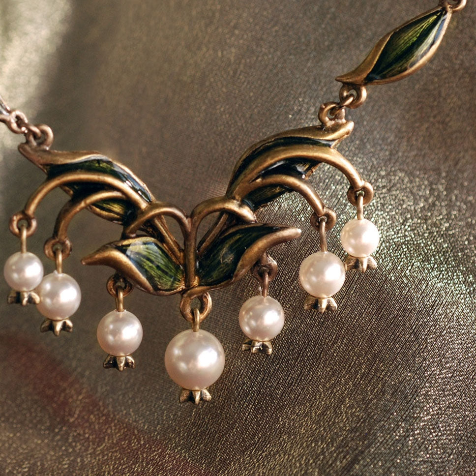 Lily of the Valley Necklace N585