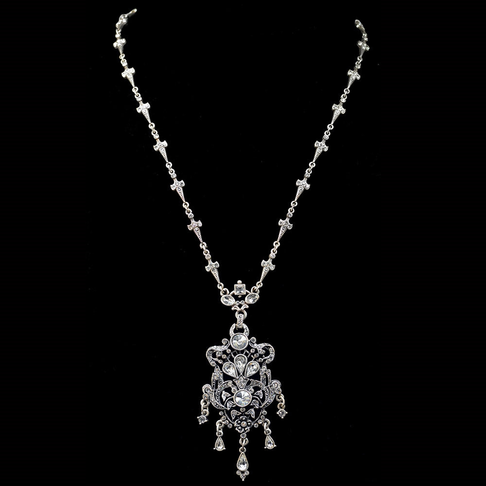 Marie Antoinette Wedding Necklace N648 - Sweet Romance Wholesale