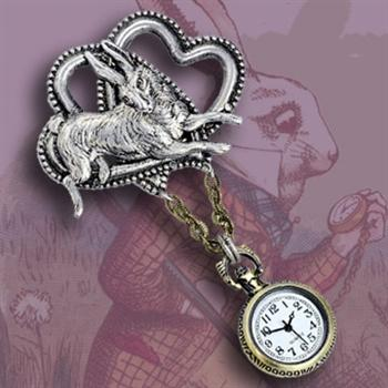 No Time To Say Hello Goodbye Watch Pin P111 - Sweet Romance Wholesale