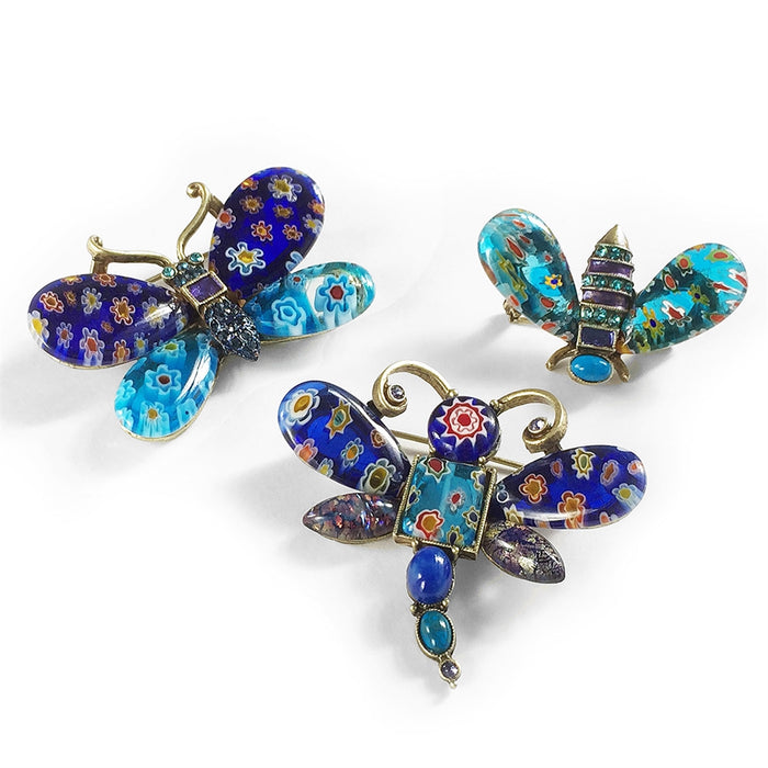 Candy Glass Insect Pins P208 - Sweet Romance Wholesale