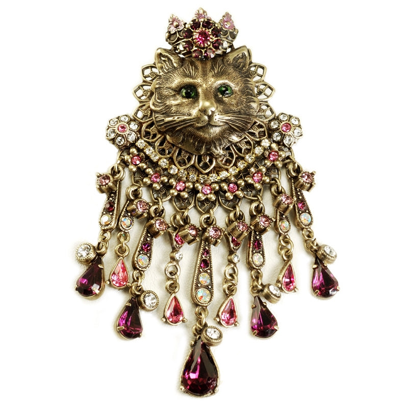 Elizabethan Feline Cat Pin - Sweet Romance Wholesale