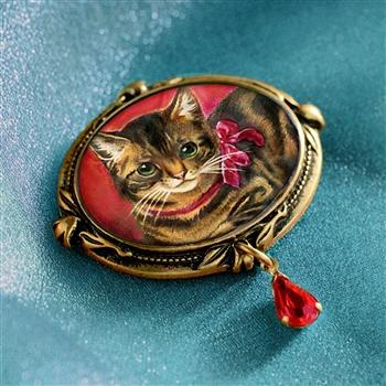 Kitty Valentine Pin P332 - Sweet Romance Wholesale
