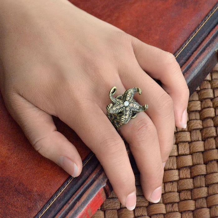 Starfish Tide Pool Ring - Sweet Romance Wholesale