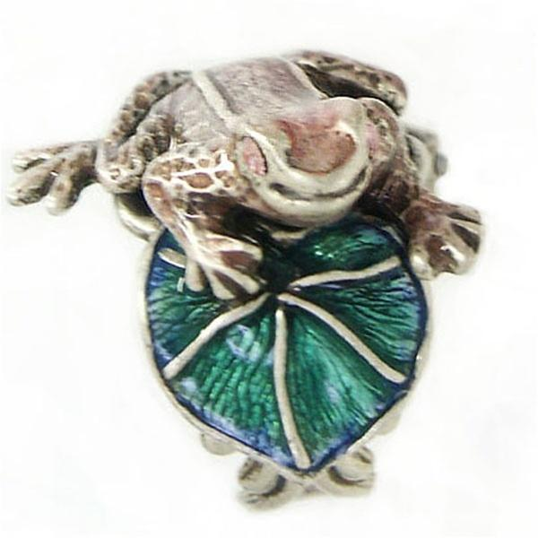 Little Frog Sculpture Ring - Sweet Romance Wholesale
