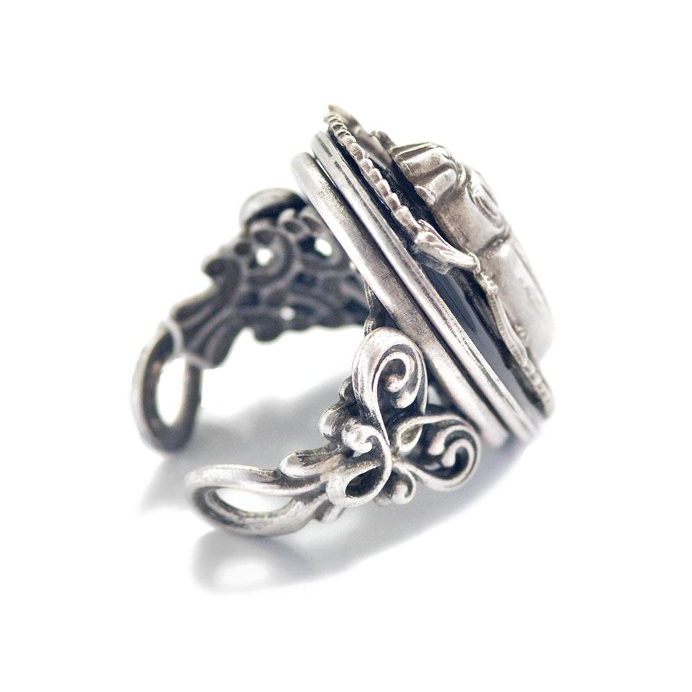 Scarab Beetle Ring - Sweet Romance Wholesale