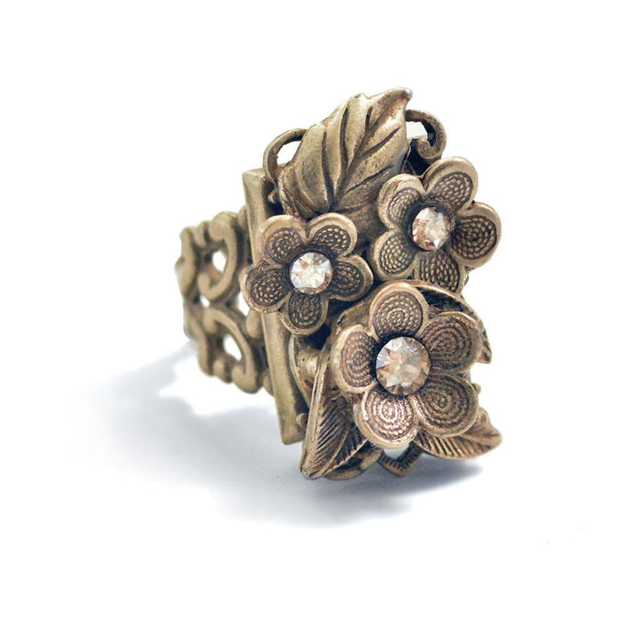 Forget Me Not Flower Ring - Sweet Romance Wholesale