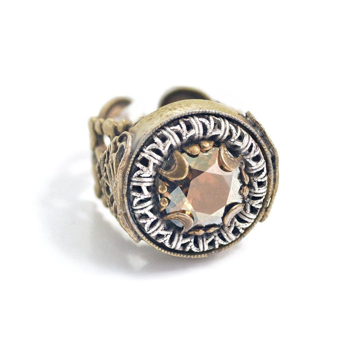 Circle Jewel Ring R555 - Sweet Romance Wholesale