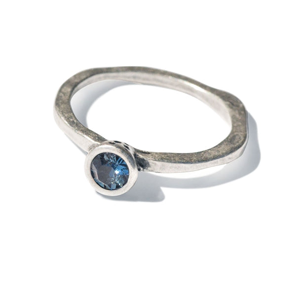 Swarovski Crystal Solitaire Birthstone Stacking Rings - Sweet Romance Wholesale