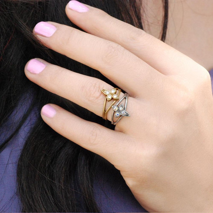 Cross Toe Ring TR110 - Sweet Romance Wholesale