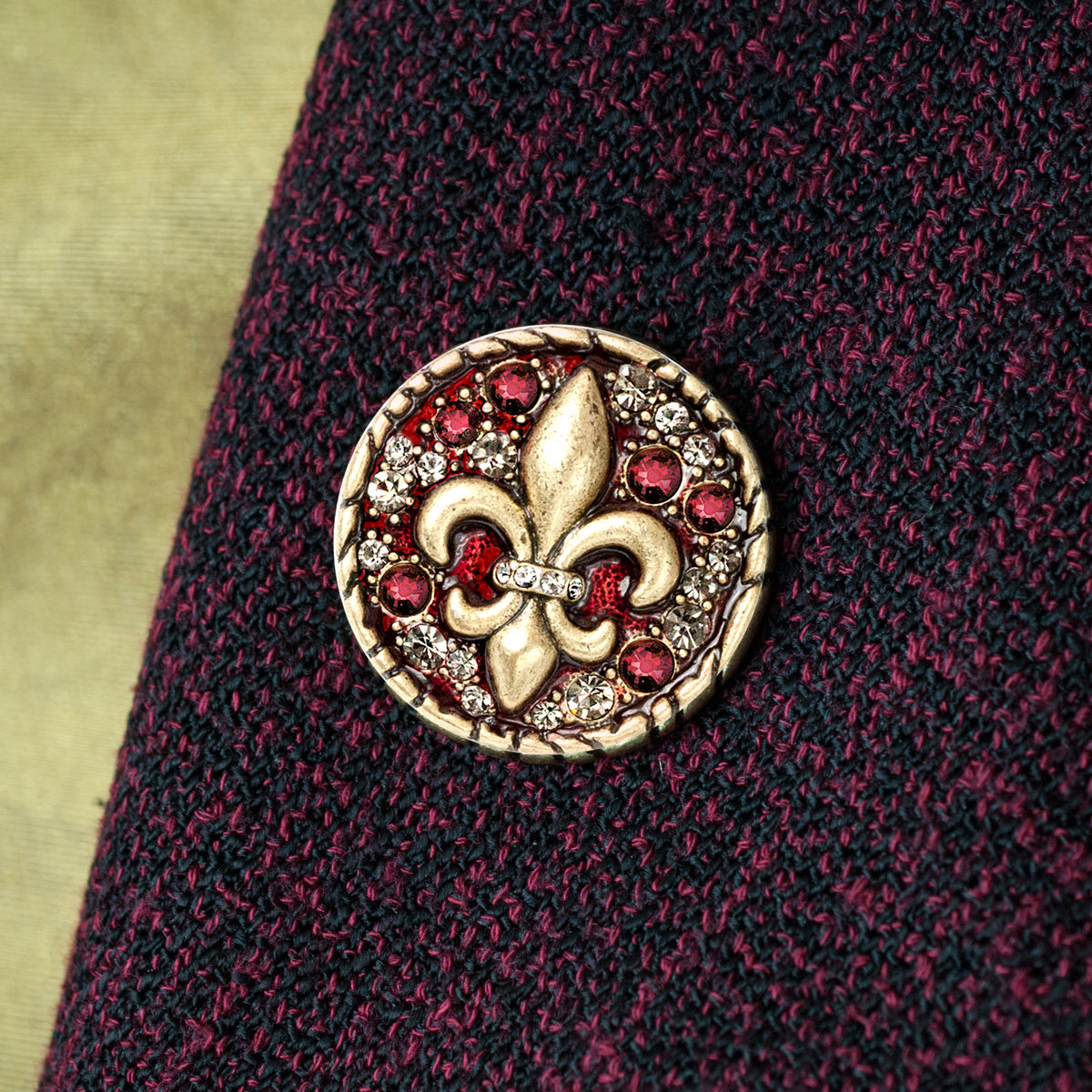 Fleur de Lis Coin Pin P660 - Sweet Romance Wholesale