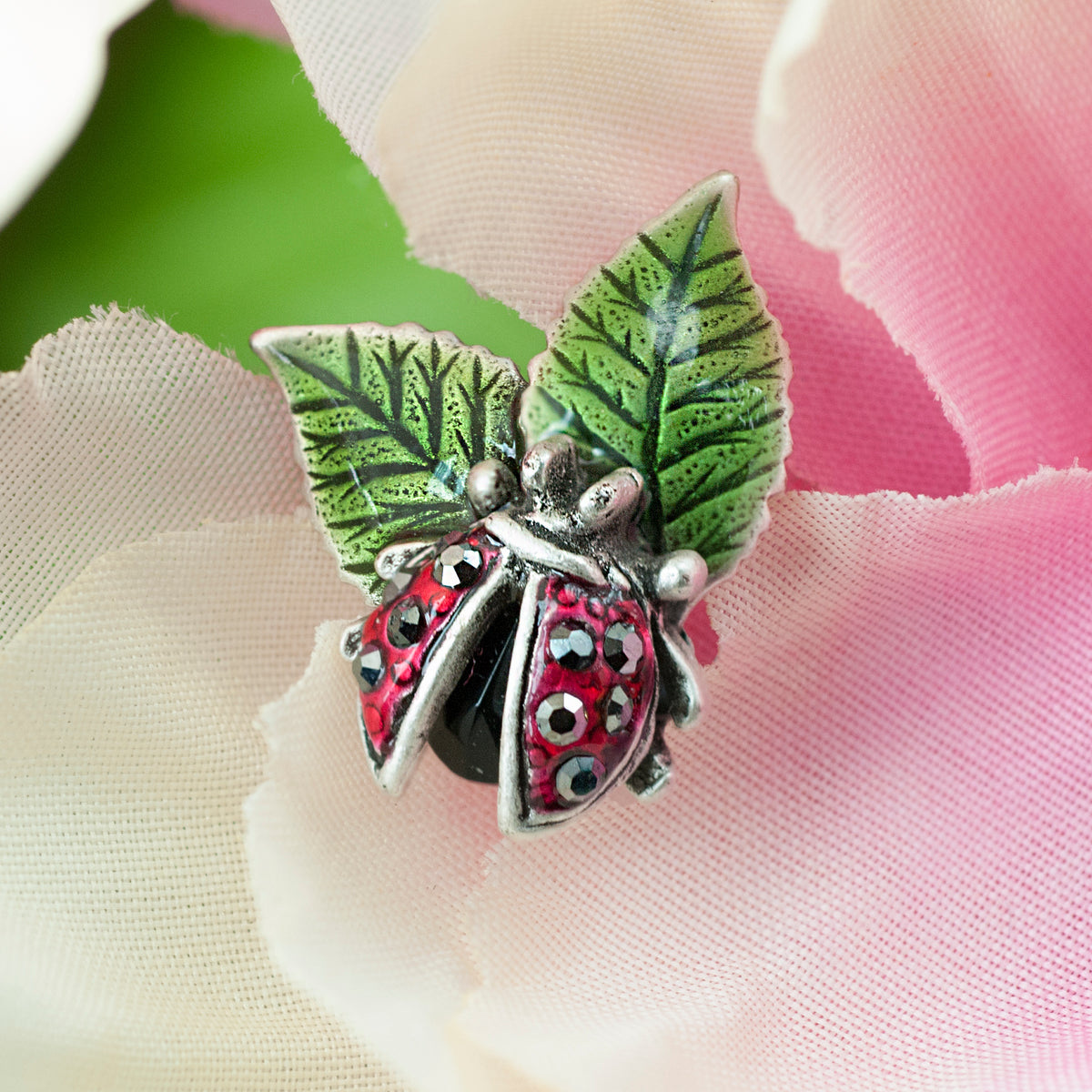 Scattered Lady Bug Pin P662 - Sweet Romance Wholesale